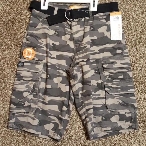 d83c451100 Lee Bottoms | Boys Dungarees Camo Cargo Shorts | Poshmark